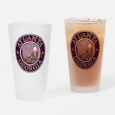 Atlanta, Georgia Drinking Glass