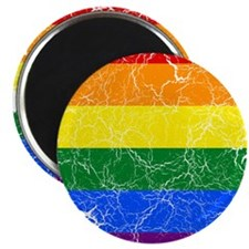 "Sierra Leone Rainbow Pride Flag And Map 2.25"" Magn"