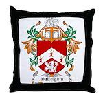 O'Meighin Coat of Arms Throw Pillow