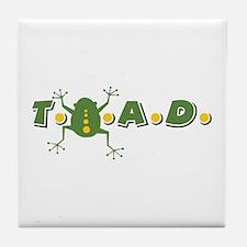 T.O.A.D. Tile Coaster