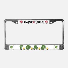 T.O.A.D. License Plate Frame