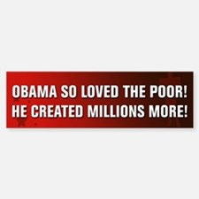 Anti Obama Bumper Bumper Sticker