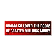 Anti Obama Car Magnet 10 x 3