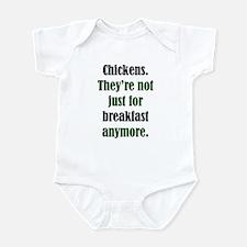 Chicken & Poultry Breakfast Infant Bodysuit