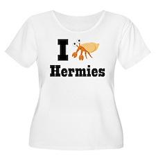 I Heart Hermies Hermit Crab T-Shirt