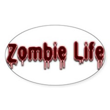Zombie Life Decal