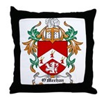 O'Meehan Coat of Arms Throw Pillow