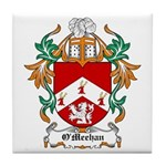 O'Meehan Coat of Arms Tile Coaster