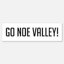Go Noe Valley Bumper Bumper Bumper Sticker