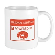 Personal Assistant Powered by Doughnuts Mug