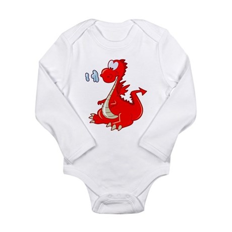 Dragon Long Sleeve Infant Bodysuit