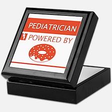 Pediatrician Powered by Doughnuts Keepsake Box