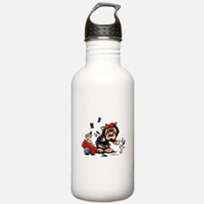 Yorkie Gardener Water Bottle