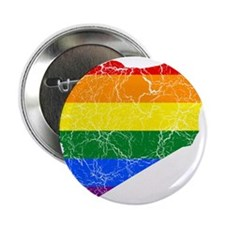 """Syria Rainbow Pride Flag And Map 2.25"""" Button"""