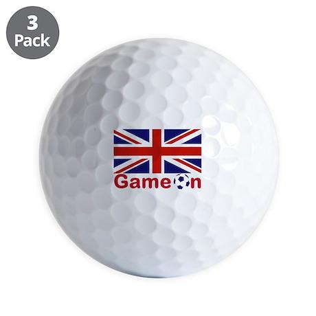Let the Games Begin Golf Balls