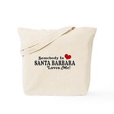 Santa Barbara California Tote Bag