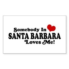 Santa Barbara California Decal