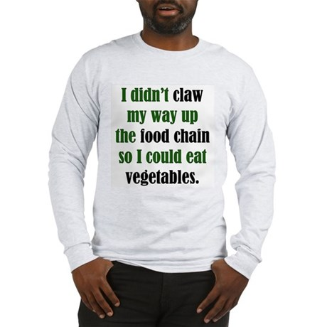 Vegetable Claw Long Sleeve T-Shirt