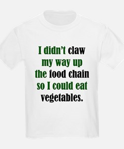 Vegetable Claw Kids T-Shirt