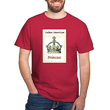 Cuban-American Princess (color) T-Shirt