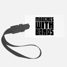 Marches with Bands Luggage Tag