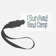 I Survived Band Camp Luggage Tag