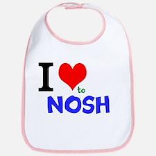I love to Nosh bib