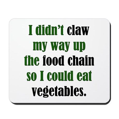 Vegetable Claw Mousepad
