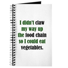 Vegetable Claw Journal