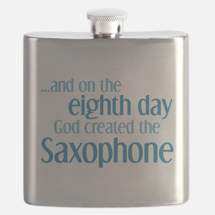 Saxophone Creation Flask