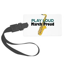 Cool Saxophone Luggage Tag