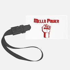 Mello Power Luggage Tag