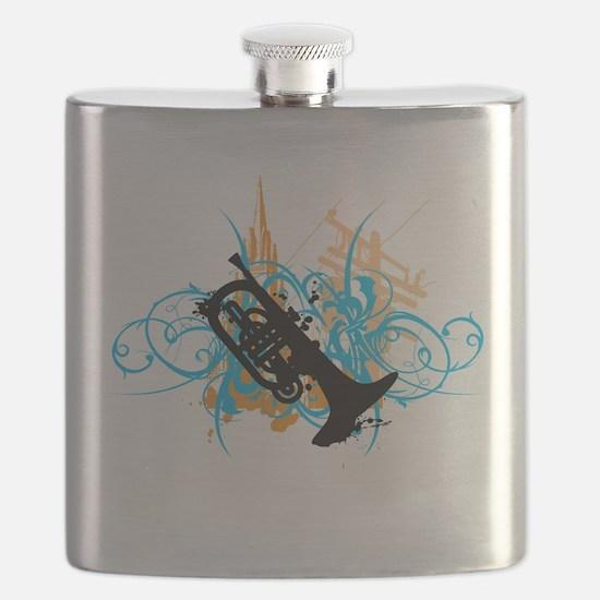 Urban Mellophone Flask