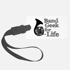 French Horn Band Geek Luggage Tag