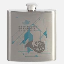Tech Horn Flask
