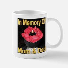 In Memory of Mom & Dad Mug