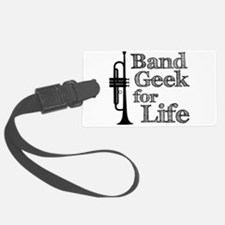 Trumpet Band Geek Luggage Tag