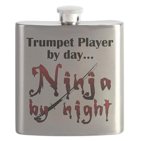 Trumpet Ninja Flask