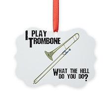 Trombone Attitude Ornament