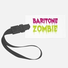 Baritone Zombie Luggage Tag
