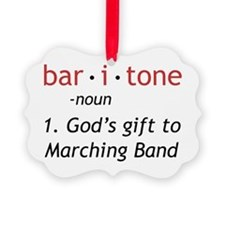 Definition of a Baritone Ornament