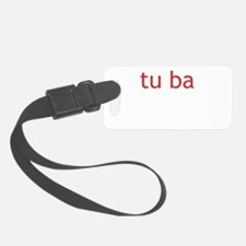 Tuba Definition Luggage Tag