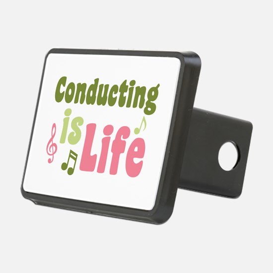 Conducting is Life Hitch Cover