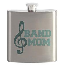 Treble Clef Band Mom Flask