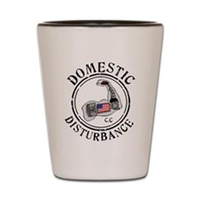 Domestic Disturbance Logo Shot Glass