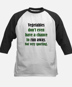 Veggies Run Away Tee