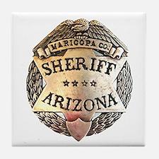 Maricopa Arizona Sheriff Tile Coaster