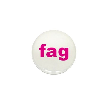 fag Mini Button (100 pack)