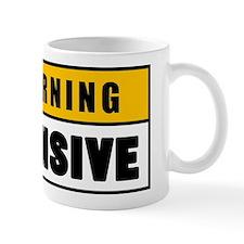 Warning Offensive Lockout Mug