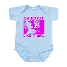 SHOOT LIKE A GIRL Infant Bodysuit